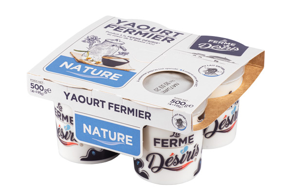 Pack de Yaourts Fermier - Nature