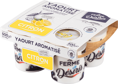 Pack Yaourts aromatisés Citron