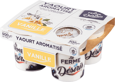 Pack Yaourts aromatisés Vanille