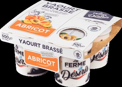 Pack de Yaourts Brassés - Abricot