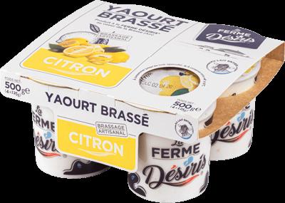 Pack de Yaourts Brassés - Citron