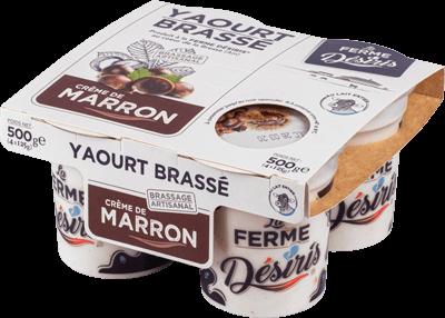 Pack de Yaourts Brassés - Marron