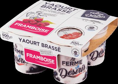 Pack de Yaourts Brassés - Framboise