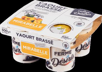Pack de Yaourts Brassés - Mirabelle