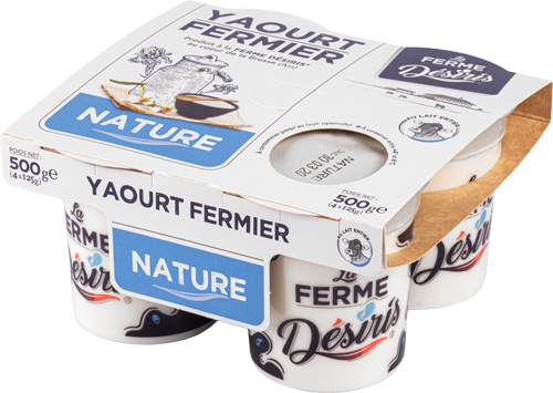 Pack Yaourts Fermier nature