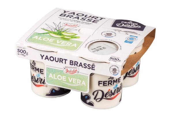 Pack de Yaourts brassés - Aloe Vera