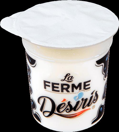 Pot de yaourt Désiris Nature
